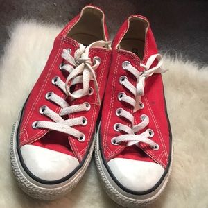 Converse All-Star Red White